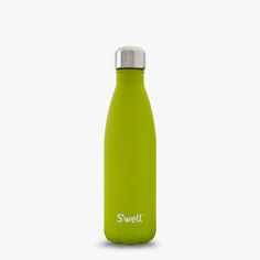 Peridot S'well water containers, bottles are double walled, vacuum-sealed, stainless steel best water bottles, which are BPA and toxic free, easily portable, stylish and sporty water bottles