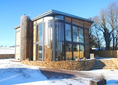 The Solar-Heated Adaptahaus is the UK's First Affordable Green...