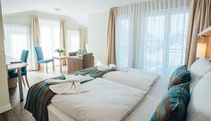 First-Class-Hotelapartment für max. 2 Personen mit Wannenbad und Balkon