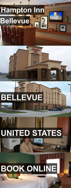 Hotel Hampton Inn Bellevue in Bellevue, United States. For more information, photos, reviews and best prices please follow the link. #UnitedStates #Bellevue #travel #vacation #hotel