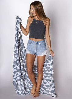 Beach Blanket, Grey