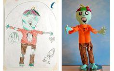 Wendy Tsao - brinquedos baseados em desenhos de crianças