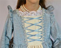 Girl's Renaissance Blue Princess by bonnybluearts on Etsy