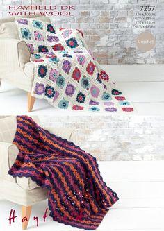 Deramores Knitting Patterns : Crochet on Pinterest Crochet Hooks, Vintage Blanket and Blankets