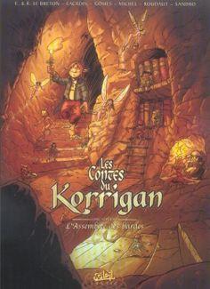Couverture Les Contes du Korrigan, tome 07 : L'Assemblée des Bardes