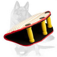 Have #Puppy #Bite #Builder with 3 #Handles made of #jute-#Wedge #Tug for #GSD $59.90 The purpose of this #special dog #equipment is training #puppies and #adult #dogs such as #bite #building