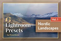 Nordic Landscapes Vol. 1, Lightroom by PhotoMarket on @creativemarket