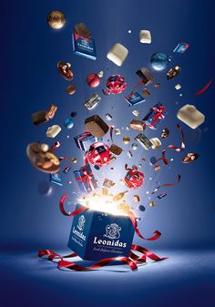 "Leonidas "" Boum "" by Jekyll n' Hyde, via Behance Creative Market Ads Creative, Creative Posters, Creative Advertising, Advertising Design, Creative Design, Banks Advertising, Crea Design, Ad Design, Layout Design"
