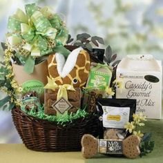 Doggie Gift Basket!