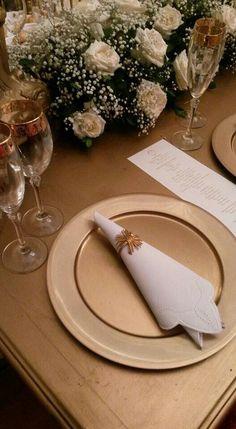 Casamento de Luana Albuquerque no Ilmar Buffet em fortaleza.  Porta guardanapos Rosa Sensoli Design por Jessica Melo  e @rosasensolidesign