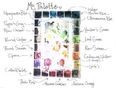 watercolor palette   The Feeding Edge » How To Set Up A Fabulous Watercolor Palette