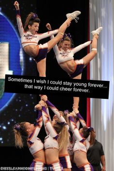 Cheerleading Confessions i wish. Cheerleading Photos, Cheer Stunts, Cheer Dance, Competitive Cheerleading, Cheerleader Quotes, Cheerleading Outfits, All Star Cheer, Cheer Mom, Cheer Tips