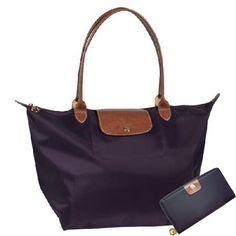 Discount Longchamp bag purple  Black wallet : your title, your description$86.82