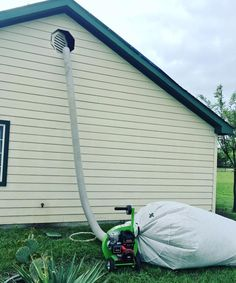 SERVPRO of Flower Mound was able to get affected insulation out quickly with our Insulation Removal Machine! It was one of our favorite pieces of equipment during the Wylie, Tx. storms! 972-420-4771 #StormDamage #WetInsulation #HereToHelp #EmergencyResponse