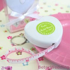 """Measure Up Some Love"" Heart Tape Measure at Elegant Gift Gallery. We're your number one source for wedding favors and bridal shower favors. Tape measure favors at discount prices! Unique Bridal Shower, Wedding Shower Favors, Unique Wedding Favors, Baby Shower Favors, Shower Gifts, Wedding Gifts, Bridal Showers, Baby Showers, Wedding Souvenir"
