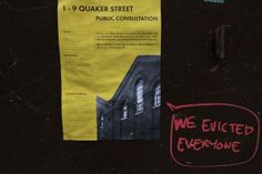 A sad catalogue of some of the history the East End stands to lose shortly if nothing is done. [spitalfieldslife.com]