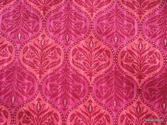 Indian  Block Print Cotton Fabric in Pink  Sold by Yard via Etsy