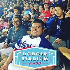 THINK BLUE: Dodger game with family and friends!! #sorrygabeihadtostealit #goodtimes #gododgers #family #blakewashiding #losdoyers #love #fun #losangeles by edeek_garseeya