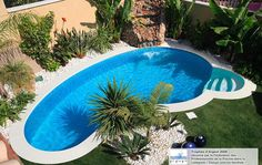 Très belle piscine Céline en Espagne. #waterair