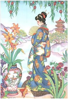 Sudden Shower Ando Hiroshige Asian Bridge Rain Water Boat Print Poster 18x26