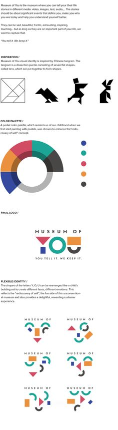 Museum of You by Keira Bui, via Behance