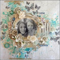 Live and Dream Together - Dusty Attic - Scrapbook.com