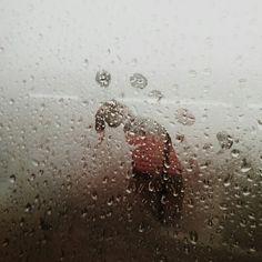 비오는 날 버스안 흔적 남기기 ᆢ