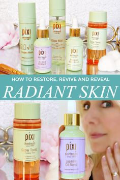 Beauty Report: How to restore, revive and reveal radiant skin at any age using cruelty-free products from Pixi.  #ad #pixibeauty #restoration #skincare #crueltyfree #GetTheGlow #ItsAllAboutTheGlow #pixi #beautyblogger #healthyskin