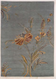 Melilli Hand Knotted Tibetan Rug from the India Collection V collection at Modern Area Rugs