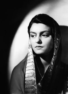 Delicate saree with a gorgeous border. Worn by the elegant Maharani Gayatri Devi, who was once named in Vogue's list of the 10 most beautiful women in the world