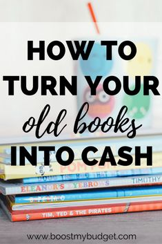 How to sell second hand books for quick cash? You have several options! There ar. - Timing Your House Buy - Make Money Make Money On Amazon, Make Money From Home, Way To Make Money, Make Money Online, Sell Old Books, Books To Buy, Used Books, Sell Books For Cash, Quick Cash