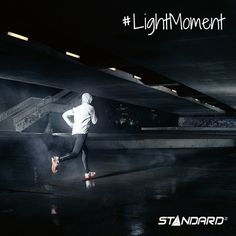 Without street lighting, it wouldn't be that easy to stay in shape. *The perfect light for every moment of your life*  #StandardProducts #Toronto #Ottawa #Ontario #Calgary #Alberta #BC #Vancouver #Jogging #LightMoment #MicroMoment #Run #Running #workout #