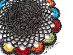 Purse Patterns Free, Crochet Purse Patterns, Crochet Purses, Crochet Round, Cute Crochet, Hand Crochet, Knit Crochet, Lace Doilies, Crochet Doilies