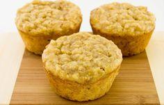 High-Protein Banana Oat Muffins