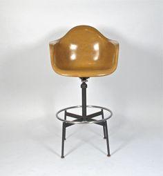 Charles Eames Drafting Arm Chair Herman Miller 1960
