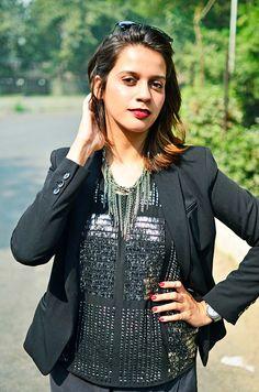 bling   #ootd   Vero Moda   Akanksha Redhu
