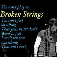 Broken strings - james morrison lyrics