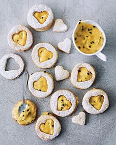 A thick filling made from passion fruit is an ideal variation on the traditional sandwich cookie. #sweetpaul