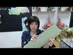 Бесплатный мастер-класс «Большие листья для ростовых цветов». Мастер Наталья Дроздова. - YouTube