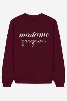 Madame Grognon - brodé