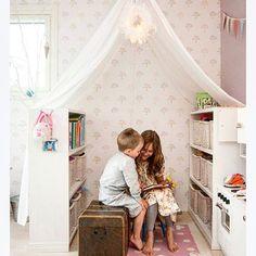"""@barnrumsinspo's photo: """"Så enkelt men mysigt❤️❤️ bild:pinterest  #barnrumsinspo #kidsroom #inspo #barnrum #myshörna"""""""