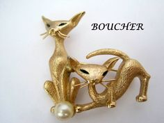 Vintage 60's Boucher signed and Numbered by VintagObsessions, $55.00
