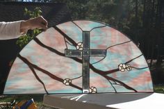 Cross with Dogwood branches