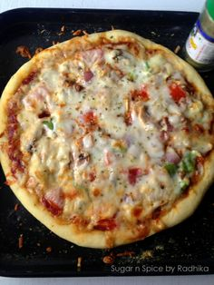 How to Make Veggie Pizza at Home from Scratch?