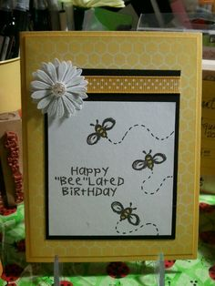 Beelated birthday