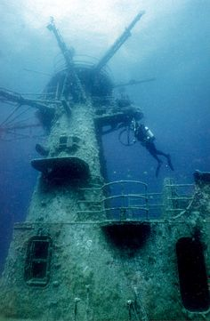 HMAS Swan dive wreck in Dunsborough (near Perth, Australia). Check it out when you're in the neighbourhood!