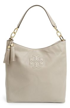 a77b9d0320e4 Free shipping and returns on Tory Burch  Thea  Leather Hobo at Nordstrom.com
