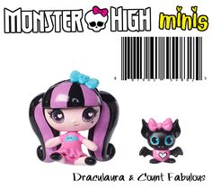 Monster High Mini Draculaura & Pet