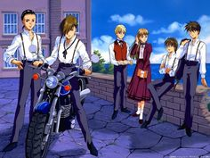 Gundam Wing ~~ Yet another boarding school for hiding from the enemies, lads? Really?!