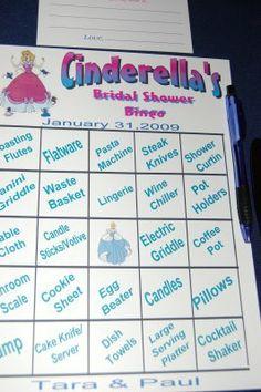 Hawthorne Hotel: Bridal Shower with a Cinderella Theme